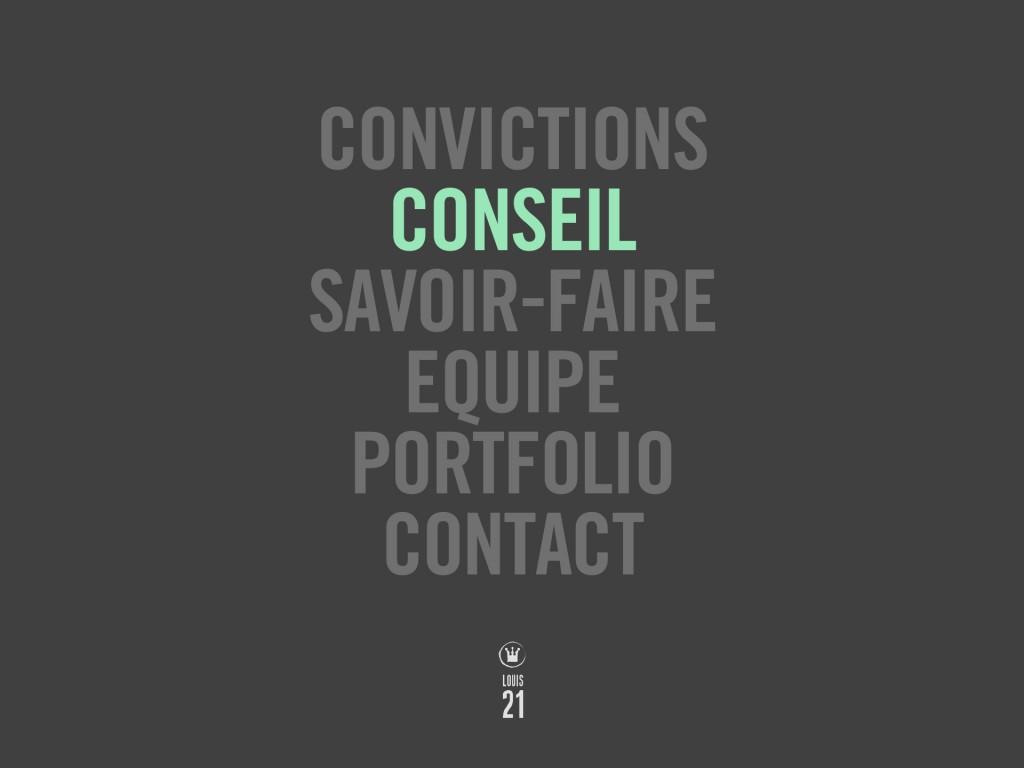 Louis21 - Accueil - Conseil