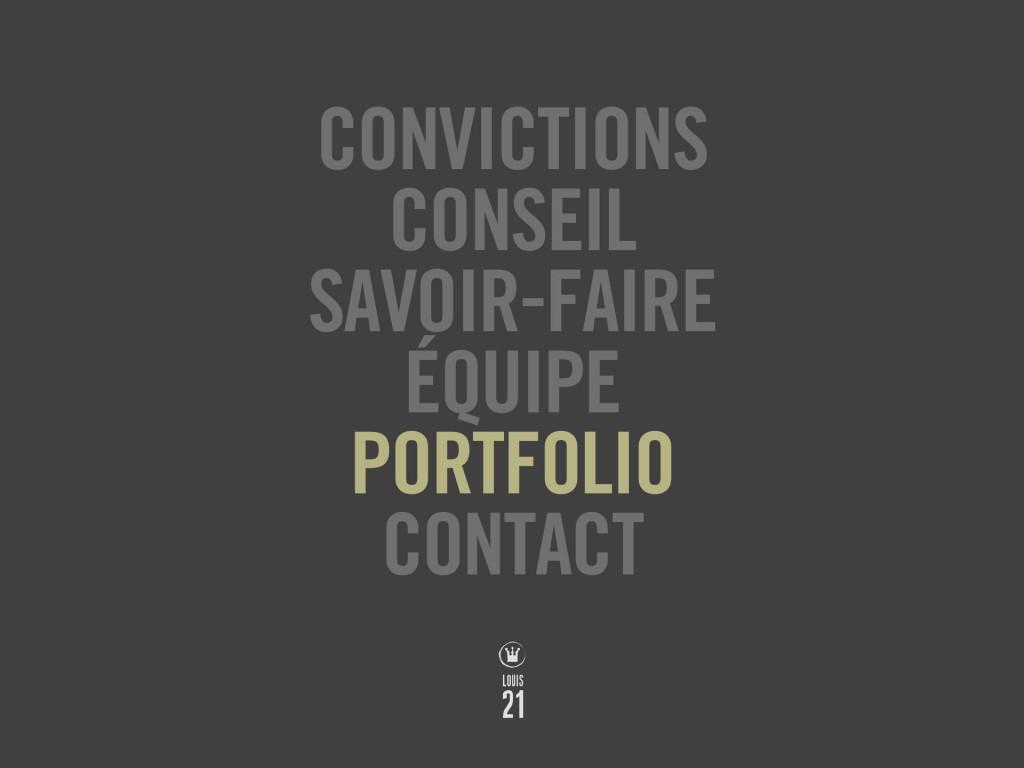 Louis21 - Accueil - Portfolio