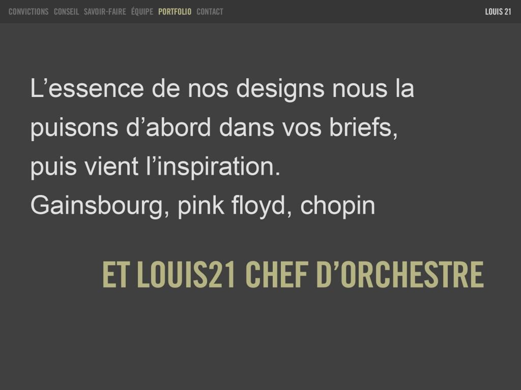 Louis21 - Portfolio